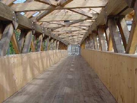 Covered Bridges Gt Art Thureson Inc Michigan Timber And